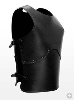 Peasant Warrior Leather Armor black High quality leather products from Andracor, handcrafted in Berlin