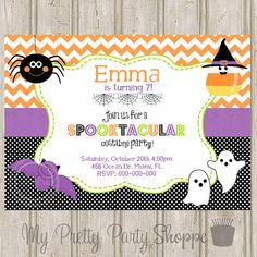 Costume Party Invitation Halloween Party Printable Invitation