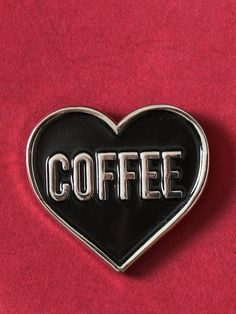 Love Coffee Enamel Pin - Gypsy Warrior