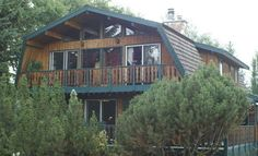 Huge Cedar Lodge On Sylvan Lake - Alberta - VRBO Sylvan Lake Alberta, Vacation Rentals, Ideal Home, Abs, Explore, House Styles, Ideal House, Crunches, Abdominal Muscles