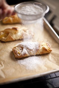 Pineapple Quesitos (puff pastry) - ZoeBakes