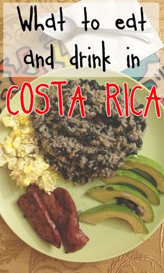 Going to Costa Rica and want to eat like a local? Here is our list of things to eat and drink in Costa Rica, the traditional dishes via @mytanfeet