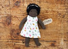 Flora  Waldorf Doll 22 cm / 9 by naronka on Etsy