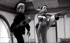 "gregory+hines+dancing+mikhail+dancing | Mikhail Baryshnikov and Gregory Hines in ""White Nights,"" a 1985 film ..."