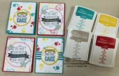Just Sponge It, Big Day (SAB), Balloon Bash, Starburst Framelits, Stars Framelits, Itty Bitty Accents Punch pack, Blendibilities, Birthday Cards, DIY, Stampin' Up!