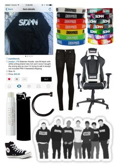 """""""If someone bought me that hoodie I'd love them forever 😂..."""" by emo-kyleigh ❤ liked on Polyvore featuring Alyx, Converse and WALL"""