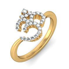 Image result for om diamond ring