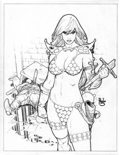 Paulo Siqueira - Red Sonja