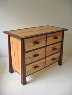 walnut, ambrosia maple.  Tibet Dresser | Futon Designs