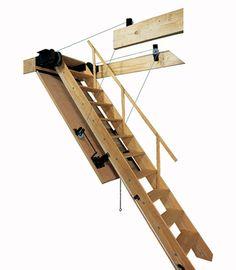 Attic Ladders | Industrial Ladder & Scaffolding Inc