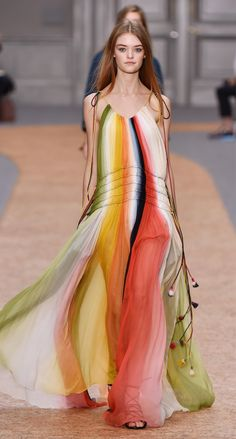 Look 24 from the Chloé Spring-Summer 2016 collection