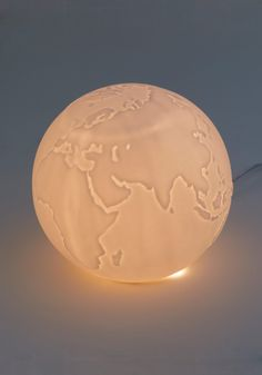 White globe light!