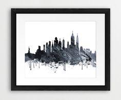 New York Skyline Printable File New York City Skyline by synplus