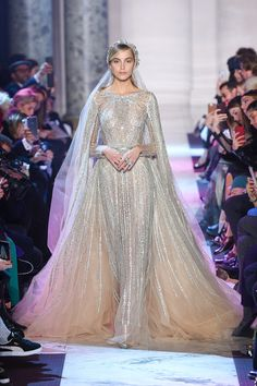 Elie Saab | Haute Couture - Spring 2018 | Look 57