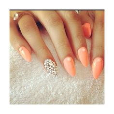 Elegant nail design Stiletto Nails!
