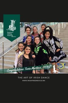 Huge congrats to our director Tania Martínez for becoming the first Inishfree TCRG in Mexico!!  🇲🇽 #InishfreeMexico™🎖#TeamInishfree  💚 #WINishfree  👯  #DanzaIrlandesa 🍀 #Inishfree School of #IrishDancing 🏆 #InishfreePedregal 🇲🇽 #InishfreeToluca 👯#IrishDancer #InishfreeTeam 👉The #Art of #IrishDance ✨#SoftShoes #Dance #Danza #TBGA #TCRG