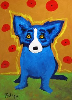 Google Image Result for http://i.ebayimg.com/t/GEORGE-RODRIGUE-BLUE-DOG-SIGNED-CANINE-EXPRESSIONIST-PAINTING-ACRYLIC-PAPER-/00/s/NjAwWDQzNA%3D%3D/%24(KGrHqV,!p8E-64bB!LOBP16-b8dyQ~~60_3.JPG