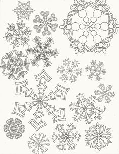 How to draw a snowflake Easy art instructions on how to