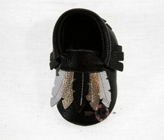 SALE WOW Gypsy Gold 100% genuine leather baby moccasins Mocs