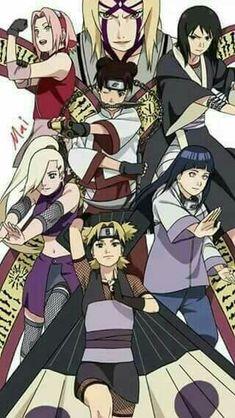 Naruto The kunochis of the hidden leaf:') Anime Naruto, Guren Naruto, Naruto Fan Art, Naruto Comic, Naruto And Hinata, Naruto Shippuden Sasuke, Naruto Girls, Sakura And Sasuke, Konoha Naruto
