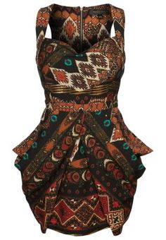 House of Deréon DRAPED MINI DRESS - Sukienka koktajlowa - BOHO ROCK - Zalando.pl
