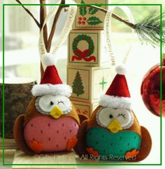 Gifts defined Christmas owls, so cute