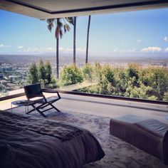 Hollywood Hills, Dream Rooms, Luxury Real Estate, Outdoor Furniture, Outdoor Decor, Master Suite, Sun Lounger, Luxury Homes, Patio