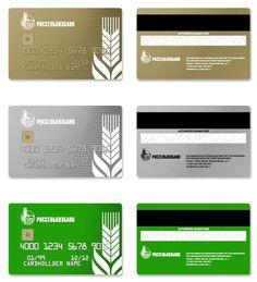 Agricultural Bank credit card design