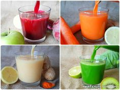 Healthy juice recipes 352828952058158442 - Make your own healthy immunity shots in minutes without a juicer. By just having the juice without the fiber it's absorbed quickly and if you're having a healthy diet it's easy to eat too much fiber. Healthy Juice Recipes, Juicer Recipes, Healthy Juices, Healthy Drinks, Healthy Snacks, Blender Recipes, Detox Juices, Canning Recipes, Detox Drinks