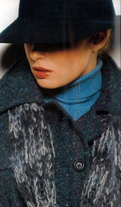 Photo by Bailey. Vogue UK 1975