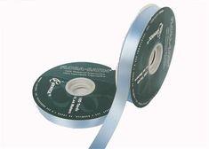 "#5 Pastel Blue Flora Satin Ribbon 5/8"" X 100 Yards(Roll)"