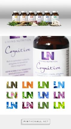 Living Nutrition Health Supplements on Packaging of the World - Creative Package Design Gallery... - a grouped images picture - Pin Them All