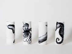 Sea Creature Graphic Stacking Cups design by imm Living