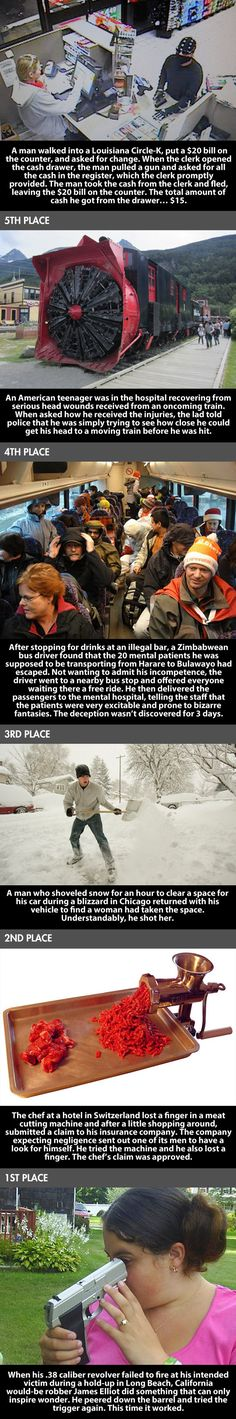 The dumbest people of 2013 #funny