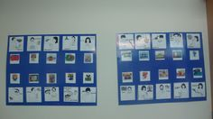 Communication Boards (Picture, word and sign for daily symbols) Daily Routine Activities, Communication Boards, Symbols, Sign, How To Plan, Words, Frame, Picture Frame, Signs