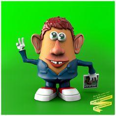 Mr potato head 60 anniversary ALFRED NEWMAN