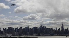 Space Shuttle over NY