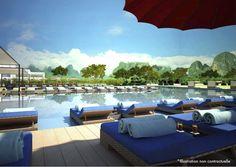 Club Med Guilin, China  (Pool Bar)