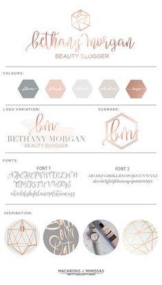 Pink Brand Inspiration For Elizabeth Ellery // Branding, Photography and Website Design Site Web Design, Layout Design, Design Color, Rose Design, Design Design, Photography Logo Design, Photography Business, Wedding Photography, Texture Photography