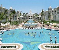 Riu Palace Punta Cana - All Inclusive Punta Cana, Dominican Republic Caribbean.  Honeymoon. Can't wait.