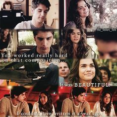 Callie has so much appreciation for Brandon's pieces and it's so appropriate and beautiful because they are just for her #Brallie