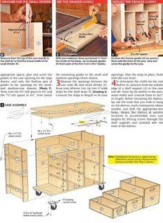 #2622 Tool Cabinet Plans - Workshop Solutions