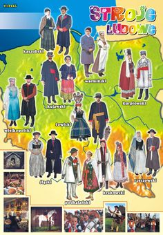 Polish traditional costumes