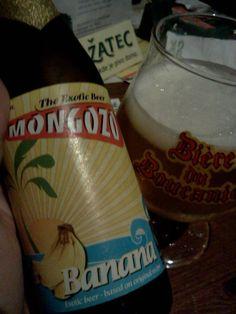 Klub malych pivovaru rulezz. Banánové pivo.