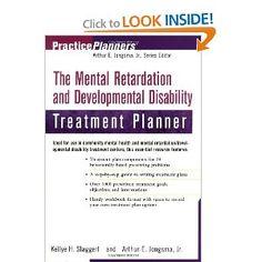 The Mental Retardation and Developmental Disability Treatment Planner