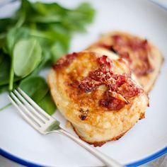 Potato Pie with Tomato & Fontina // More Potato Recipes: http://www ...