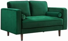 Shop Meridian Furniture Emily Green Velvet Sofa with great price, The Classy Home Furniture has the best selection of Sofas to choose from Velvet Sofa Set, Green Velvet Sofa, Green Sofa, Velvet Chairs, Apartment Furniture, Sofa Furniture, Living Room Furniture, Coaster Furniture, Furniture Ideas