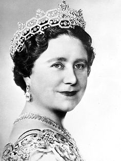 BOUCHERON HONEYCOMB TIARA  Considered a favorite of the Queen Mum, the Boucheron was passed down from the estate of society hostess the Hon. Mrs. Greville, and later bequeathed to Queen Elizabeth II following the death of her mother in 2002. The tiara is often borrowed by Camilla, Duchess of Cornwall, who has taken to wearing it to state events.