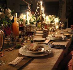 Rustic Dinner Table