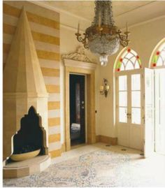 This House In Lebanon Is A Combination Of Middle Eastern And European Influences Design By